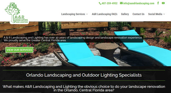 A and R Landscaping
